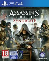 ASSASSINS CREED SYNDICATE - PLAYSTATION 4 - PS4 - NEW SEALED - SAME DAY DISPATCH