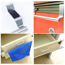 Stainless Steel Kitchen Bathroom Hook Door Towel Holder Cupboard Hanger Tool #