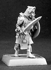 Mercenary Warrior Reaper Miniatures Warlord Fighter Paladin Melee Sword Shield
