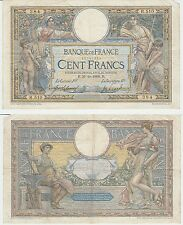 Gertbrolen rare 100 francs luc olivier merson () of 31-10-1908 r.510 with lom