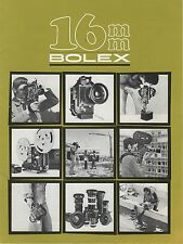16 mm Bolex Original Product Brochure