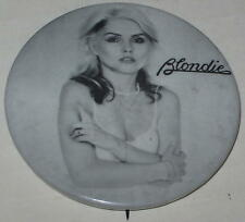 """1980's Blondie Tour Pin Approx 1.5"""""""
