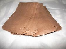 100 Mini Kraft 3 1/4 x 5 1/4 Inch Kraft Bags, Cute Goodie Paper Gift Favor Bags