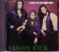 SAIGON KICK Love is on the way EDIT PROMO Radio DJ CD Single USA 1992 PRCD 4645