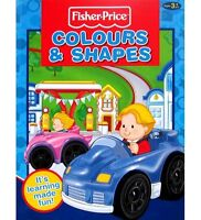 FISHER PRICE LITTLE LEARNERS COLOURS AND SHAPES BOOK
