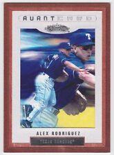 2002 Fleer Showcase ALEX RODRIGUEZ Avant Card! #131
