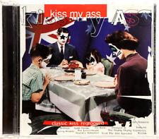 KISS CD - KISS MY ASS - w AUSSIE FLAG - GOLD SOUVENIR ED - AUSTRALIA 95 -C126612