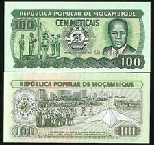 Mozambique 100 Meticias 1983 Money P-130 Unc Banknote World Currency