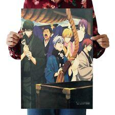 US Seller-Japanese anime kraft paper retro poster art prints for sale