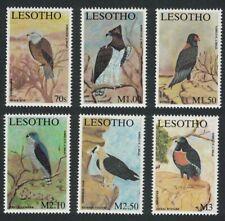 Lesotho Kite Eagle Bateleur Buzzard Birds of Prey 6v 2001 ** MNH SG#1862-1867