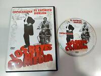 Copacabana Groucho Marx - El Espiritu Burlon Rex Harrison - DVD Region 2