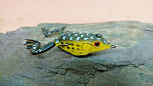 3D Concept Lure Surface Frog Realistic Soft Bait 50mm 15g Double Hook Weedless