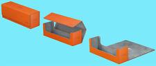 ULTIMATE GUARD ARKHIVE ORANGE XENOSKIN FLIP 400+ DECK CASE Card Storage Box MTG