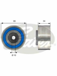 Gates Idler Pulley FOR LAND ROVER DISCOVERY LA (T42233)