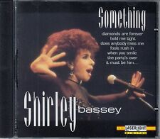 SHIRLEY BASSEY : SOMETHING / CD - NEU