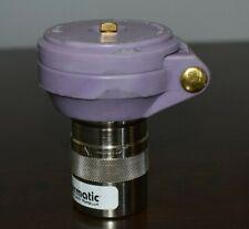 """Quick Coupling Valve - Lavender Locking Cover 1"""" NPT"""