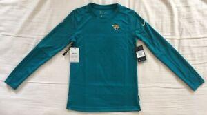 Nike Jacksonville Jaguars UV Performance Long Sleeve Shirt - Women's XS $50 NEW