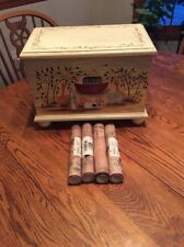 Hand Painted Noah's Ark Toy Chest