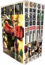 One-Punch Man Volume 1-5 Collection 5 Books Set (Series 1) Children Manga Books
