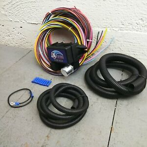 1982 - 1995 Jeep Ultra Pro Wire Harness System 12 Fuse w/panel fit replace
