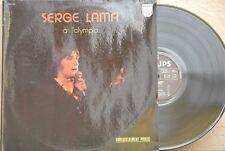 SERGE LAMA -A L'OLYMPIA- FRENCH GATEFOLD DOUBLE VINYL LP CHANSON