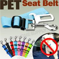 Pet Car Vehicle Seat Belt Safety Seatbelt Harness Leash Lead Dog Adjustable