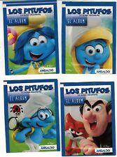Chile 2017 Ansaldo Smurfs Los pitufos Sticker Pack