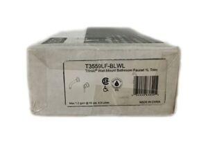 Delta Trinsic 1-Handle Wall Mount Bathroom Faucet Trim Kit Matte Black