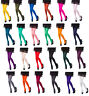 Opaque Tights Choose From 25 Fashionable Colours ,40 or 100 Denier, Sizes S-XL