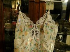 Victoria's Secret Lace FAB L Nightgown Sexy Lingerie  Babydoll pastel beautiful