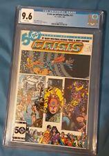 Crisis on Infinite Earths 11 Cgc 9.6