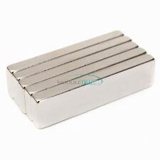 Rectangle Cube Ndfeb N52 Magnets 40x10x4mm Rare Earth Neodymium Big Strong Block