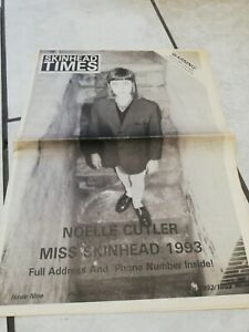 Skinhead times newspaper issue 9 1992/ 1993 madness specials two tone