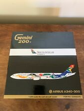 Gemini Jets 1/200 South African Airways Airbus A340-300 ZS-SXD Olympic model