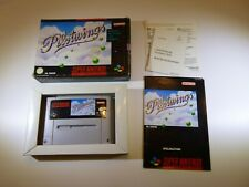 SUPER NINTENDO SNES - PILOTWINGS - GERMAN - COMPLETE BOX MANUAL
