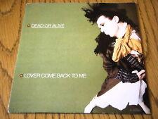 """Dead OR ALIVE-amante TORNA DA ME 7"""" VINILE PS"""