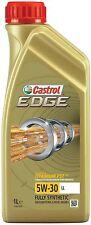 5 Litri CASTROL EDGE 5W 30 LL 504/507 Olio motore 5L Motor Oil VW Porsche 15666E