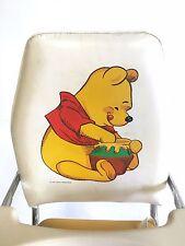 VINTAGE WINNIE THE POOH BEAR HIGH CHAIR CARTOON CHROME CHILDRENS BOOSTER SEAT 60