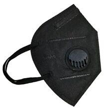 FFP2 Atemschutzmaske Mundschutz Staubmaske Atemschutz 5 x  Schwarz Ventil KN95