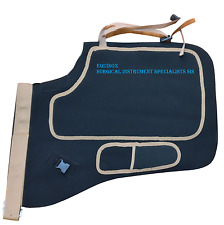Farrier Chaps Apron Neoprene Fabric Horseshoeing Apron (BLACK) - FREE KNIFE
