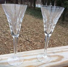 """WATERFORD TOASTING FLUTES """"COMMITMENT"""" LINCOLN SPECIAL EDTION"""