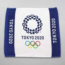 NEW Tokyo Olympic 2020 Official Hand towel Limited Design IMABARI 100% Cotton
