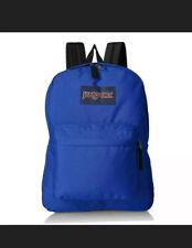 JanSport Superbreak Regal Blue Backpack Bag NEW NWT