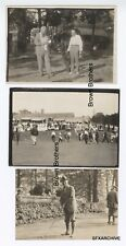 Vintage 1920s Golf Senior Golfers Apawamis Englewood Golf Clubs Photo Lot #2 6pc
