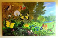 Gemälde Frühlingszauber Künstlerin Hilde Ament Art Painting