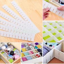 Adjustable Clapboard Drawer Divider Partition Storage Organiser Wardrobe Cupboad