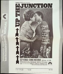 Up the Junction Pressbook 1970 Suzy Kendall, Dennis Waterman