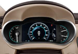 2014-2016 Buick LaCrosse Speedometer Gauges Cluster Black 26684832
