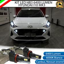 KIT FULL LED LAND ROVER HYUNDAI I10 MK3 LAMPADE LED HB3 6000K NO AVARIA LUCI