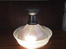 New ListingHolophane Light Lamp Shade Globe Sailor Hat 5540 Vintage Industrial Glass